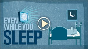 """Even While You Sleep"" - This Folding@home video explains how anybody's computer can contribute to important medical research, even while you sleep."
